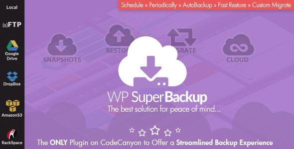 Super Backup & Clone – Migrate For Wordpress