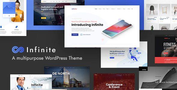 Infinite – Responsive Multi-Purpose Wordpress Theme