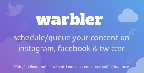 Warbler - Social Posting Scheduler For Facebook