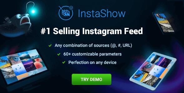 Instashow – Instagram Feed For Wordpress