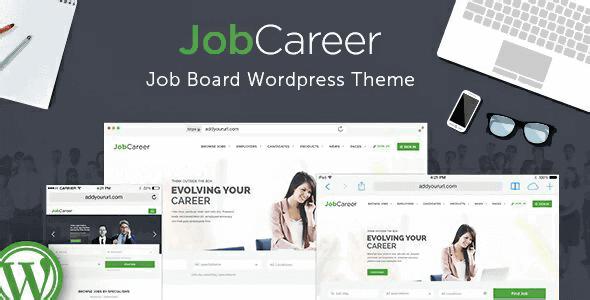 Jobcareer – Job Board Responsive Wordpress Theme