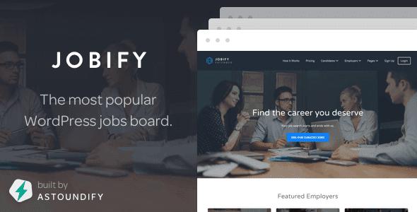 Jobify – Wordpress Job Board Theme