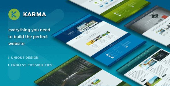 Karma – Responsive Wordpress Theme