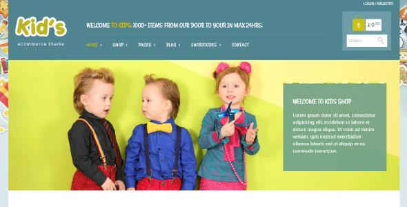Yith Kidshop – A Creative Kid'S Ecommerce Theme