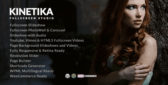 Kinetika – Fullscreen Photography Theme