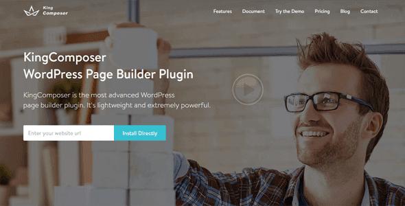 Kingcomposer Pro – Wordpress Page Builder Plugin