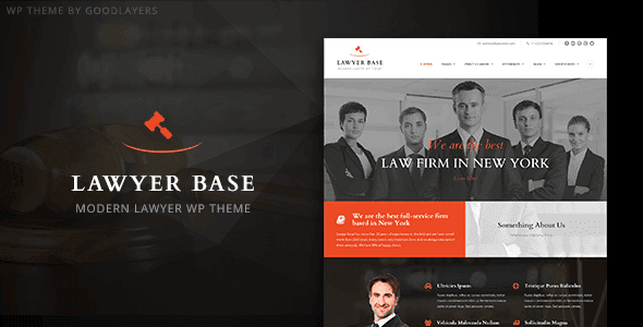Lawyer Base – Lawyers Attorneys Wordpress Theme