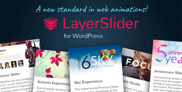 Layerslider – Responsive Wordpress Slider Plugin