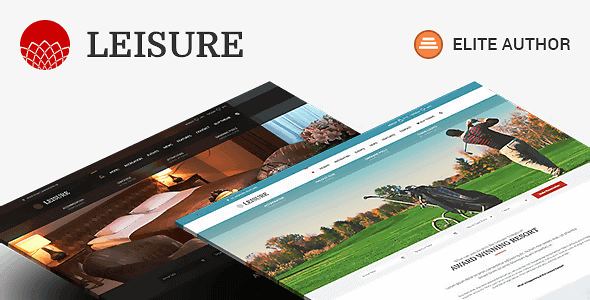 Hotel Leisure – Hotel Wordpress Theme