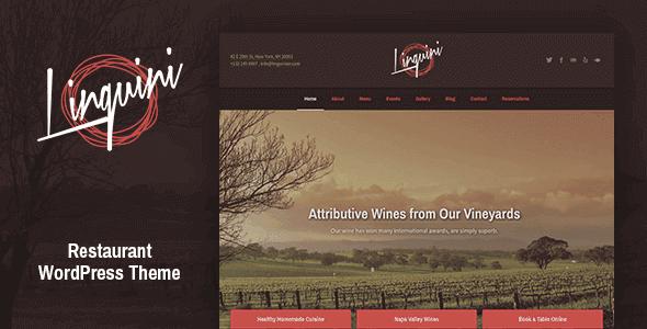 Linguini – Restaurant Wordpress Theme