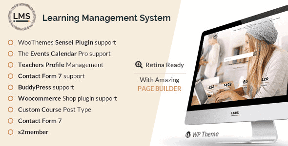 Lms – Learning Management System Education Lms Wordpress Theme