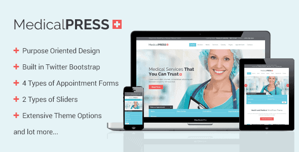 Medicalpress – Health And Medical Wordpress Theme