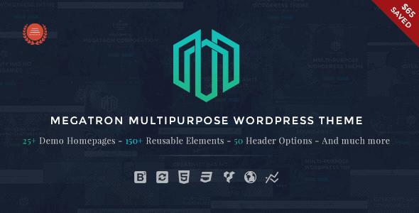 Megatron – Responsive Multipurpose Wordpress Theme
