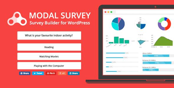 Modal Survey – Wordpress Poll Survey & Quiz Plugin