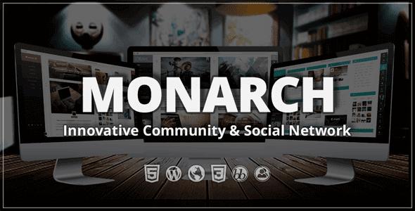 Monarch – Innovative Wordpress Community Theme