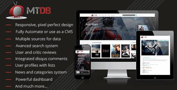 Mtdb – Ultimate Movie&Tv Database