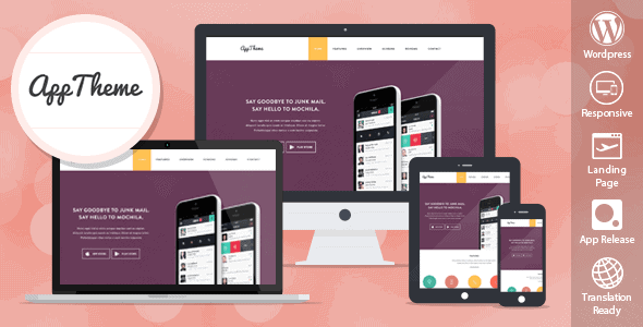 Apptheme – Wordpress Theme For Products And Apps