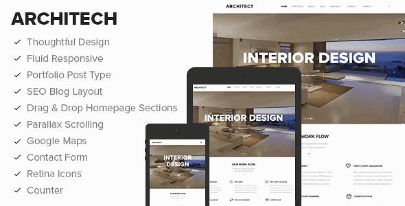 Architect – Beautiful Business Wordpress Theme