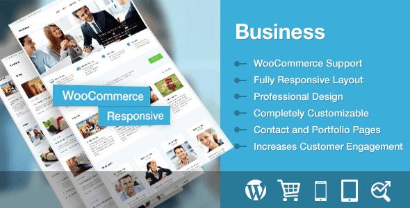 Business – Premium Wordpress Business Theme