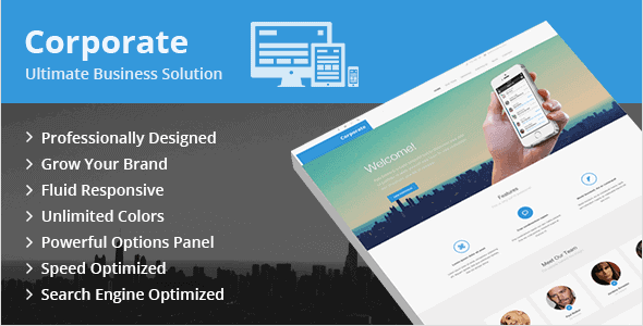 Corporate – Ultimate Business Wordpress Theme