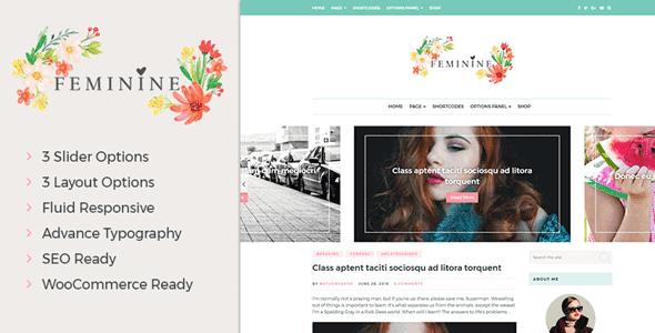 Feminine – Wordpress Theme For Fashion