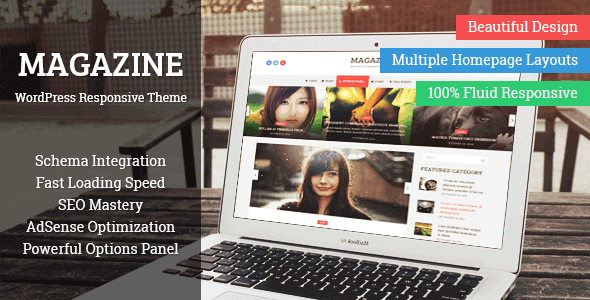Magazine – News Style Magazine Wordpress Theme
