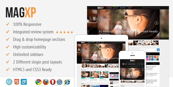 Magxp – Ultimate Magazine Wordpress Theme