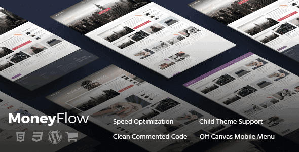 Moneyflow – Modern And Professional Wordpress Theme