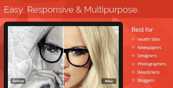 Multipurpose Before After Slider
