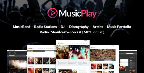 Musicplay – Music & Dj Responsive Wordpress Theme