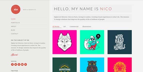 Cssigniter – Nico Wordpress Theme