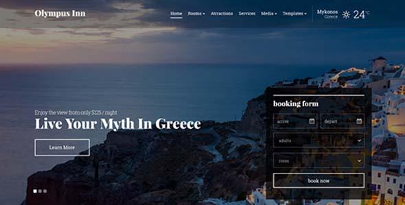 Cssigniter – Olympus Inn Wordpress Theme