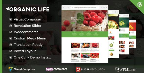Organic Life – Ecology & Environmental Theme