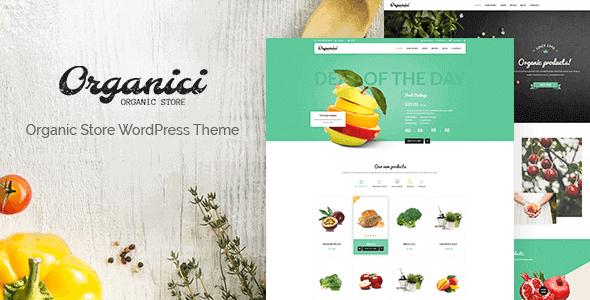Organici – Organic Store Bakery Woocommerce Theme