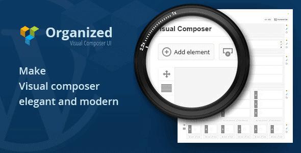 Organized – Visual Composer Ui