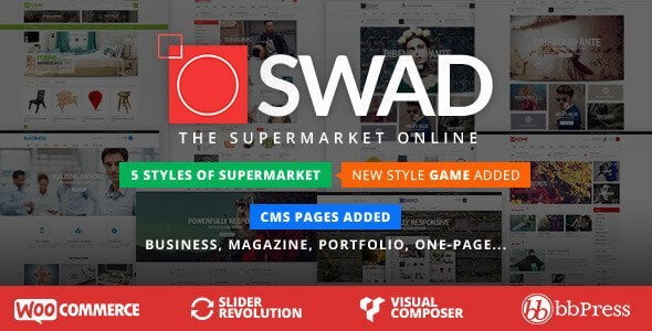 Oswad – Responsive Supermarket Online Theme