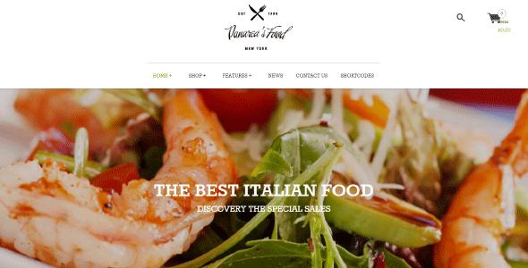Yith Panarea – Restaurant And Food Wordpress Theme