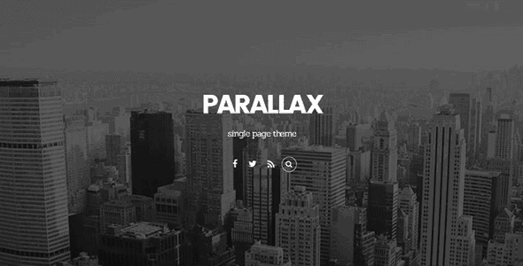 Themify Parallax - Wordpress Theme