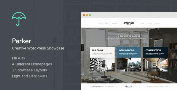 Parker – Creative Wordpress Showcase