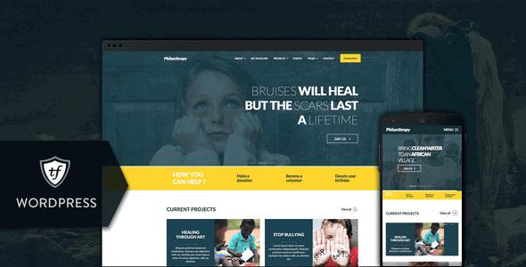 Philanthropy – Nonprofit Wordpress Theme