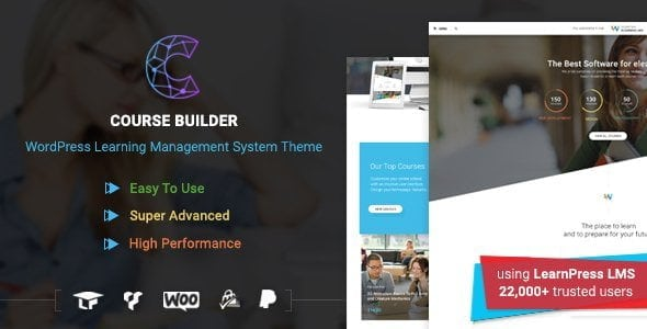 Wordpress Lms Theme For Online Courses