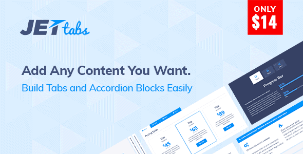 Jettabs - Tabs And Accordions For Elementor Page Builder