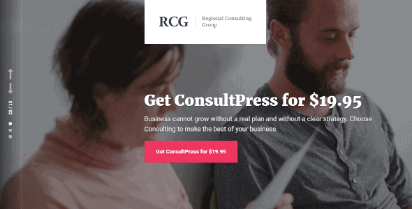 Consultpress – Wordpress Theme For Consulting Businesses And Marketing Agencies