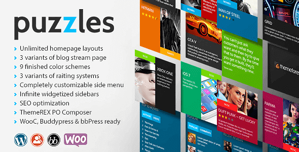 Puzzles – Wordpress Magazine/Review With Wooc