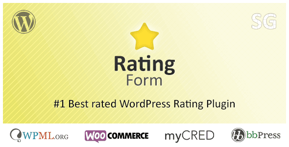 Rating Form – Best Rated Wordpress Rating Plugin