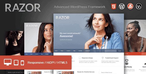 Razor – Cutting Edge Wordpress Theme