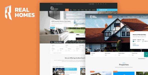 Real Homes – Wordpress Real Estate Theme