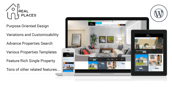 Real Places – Responsive Wordpress Real Estate Theme