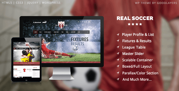 Real Soccer 0 – Sport Clubs Responsive Wp Theme