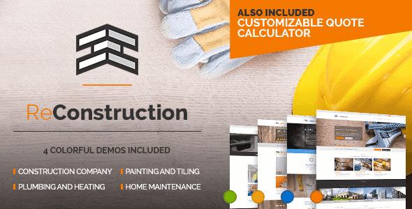 Reconstruction – Construction & Building Business